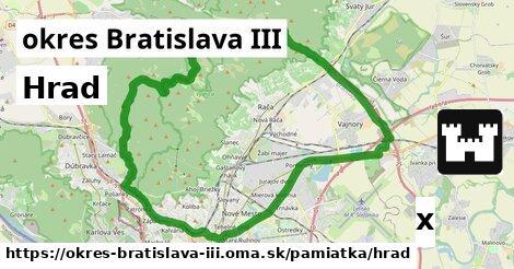 ilustračný obrázok k Hrad, okres Bratislava III