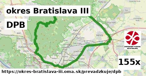 DPB, okres Bratislava III