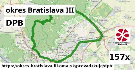 DPB v okres Bratislava III