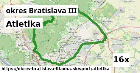 atletika v okres Bratislava III