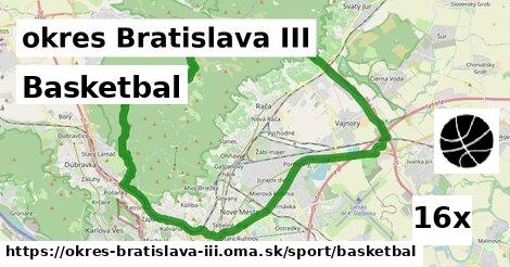 ilustračný obrázok k Basketbal, okres Bratislava III