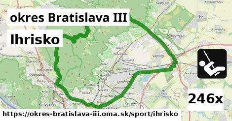 ihrisko v okres Bratislava III