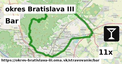 Bar, okres Bratislava III