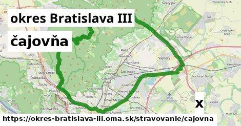 ilustračný obrázok k čajovňa, okres Bratislava III