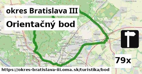 orientačný bod v okres Bratislava III
