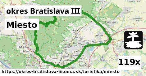 ilustračný obrázok k Miesto, okres Bratislava III