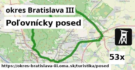 ilustračný obrázok k Poľovnícky posed, okres Bratislava III