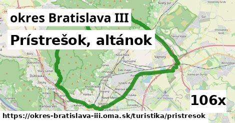 prístrešok, altánok v okres Bratislava III