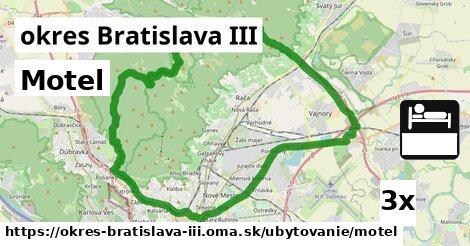 Motel, okres Bratislava III
