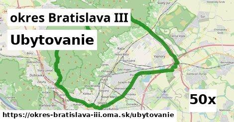 ubytovanie v okres Bratislava III