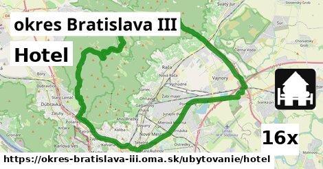 ilustračný obrázok k Hotel, okres Bratislava III