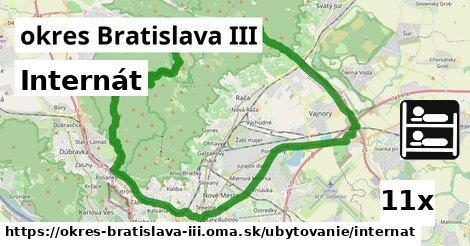 ilustračný obrázok k Internát, okres Bratislava III