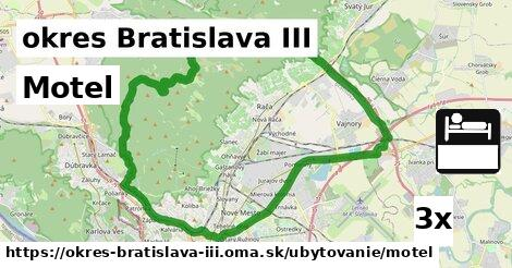 motel v okres Bratislava III