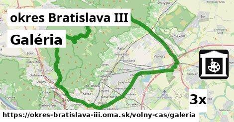 Galéria, okres Bratislava III