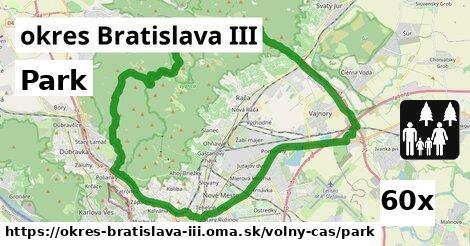 Park, okres Bratislava III
