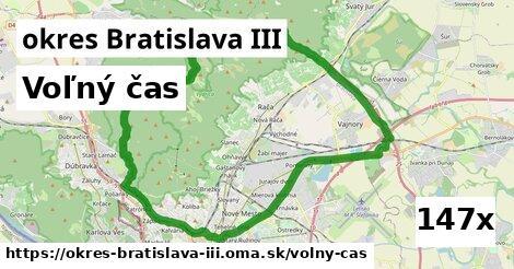 voľný čas v okres Bratislava III