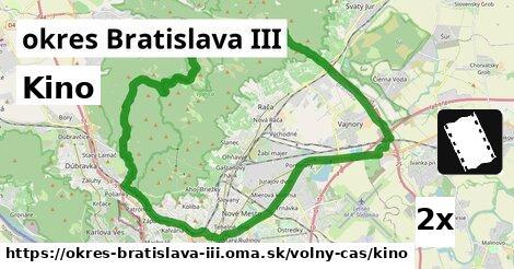 ilustračný obrázok k Kino, okres Bratislava III
