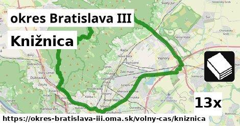 ilustračný obrázok k Knižnica, okres Bratislava III