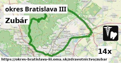 ilustračný obrázok k Zubár, okres Bratislava III