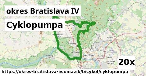 ilustračný obrázok k Cyklopumpa, okres Bratislava IV