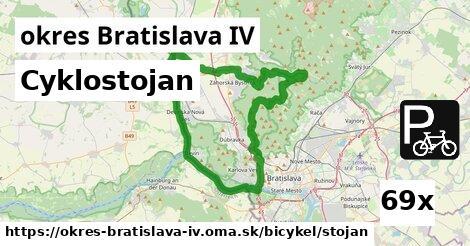 ilustračný obrázok k Cyklostojan, okres Bratislava IV
