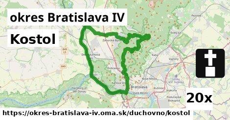 kostol v okres Bratislava IV