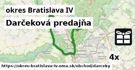 ilustračný obrázok k Darčeková predajňa, okres Bratislava IV
