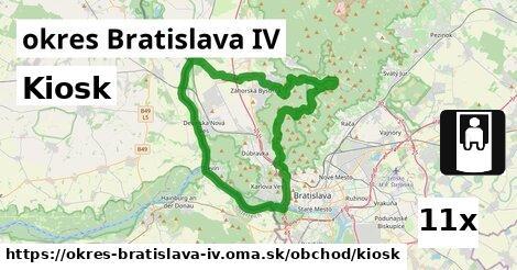 ilustračný obrázok k Kiosk, okres Bratislava IV