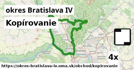 ilustračný obrázok k Kopírovanie, okres Bratislava IV