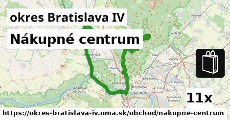 ilustračný obrázok k Nákupné centrum, okres Bratislava IV