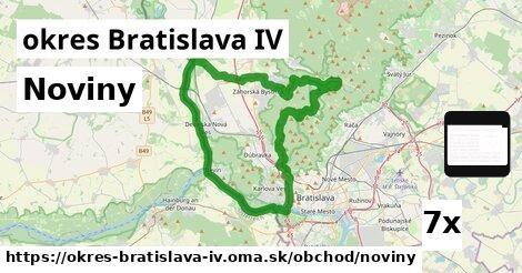 ilustračný obrázok k Noviny, okres Bratislava IV