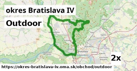 outdoor v okres Bratislava IV