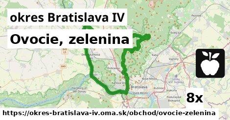 ilustračný obrázok k Ovocie, zelenina, okres Bratislava IV