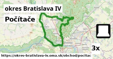 ilustračný obrázok k Počítače, okres Bratislava IV