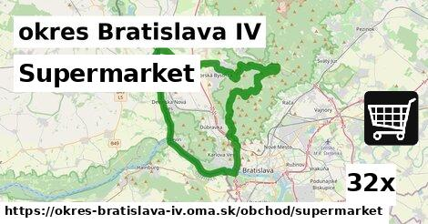 ilustračný obrázok k Supermarket, okres Bratislava IV