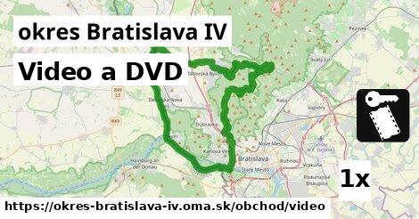 ilustračný obrázok k Video a DVD, okres Bratislava IV
