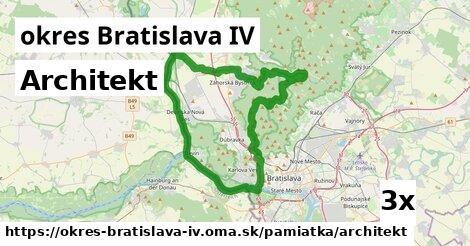 ilustračný obrázok k Architekt, okres Bratislava IV