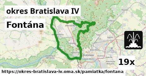 ilustračný obrázok k Fontána, okres Bratislava IV