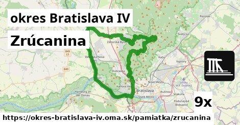ilustračný obrázok k Zrúcanina, okres Bratislava IV