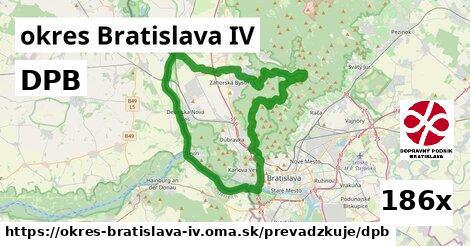 DPB, okres Bratislava IV