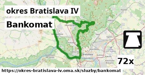 ilustračný obrázok k Bankomat, okres Bratislava IV