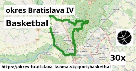 ilustračný obrázok k Basketbal, okres Bratislava IV