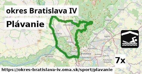 ilustračný obrázok k Plávanie, okres Bratislava IV