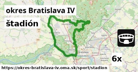 štadión v okres Bratislava IV