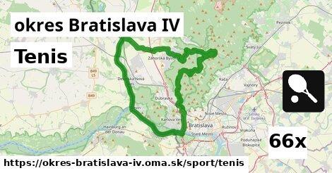 ilustračný obrázok k Tenis, okres Bratislava IV