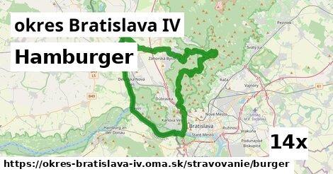 ilustračný obrázok k Hamburger, okres Bratislava IV