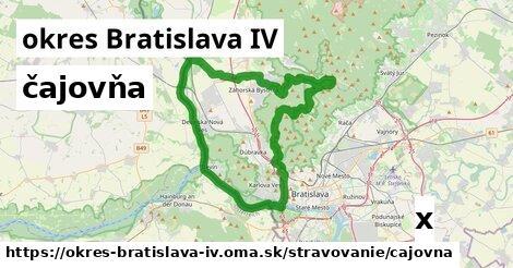 ilustračný obrázok k čajovňa, okres Bratislava IV