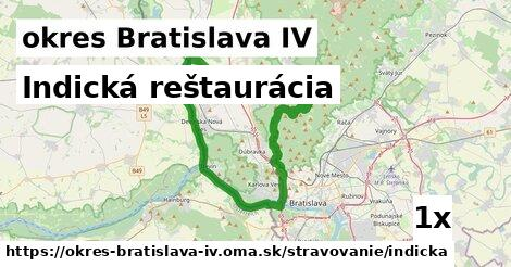 ilustračný obrázok k Indická reštaurácia, okres Bratislava IV