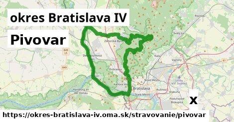 ilustračný obrázok k Pivovar, okres Bratislava IV