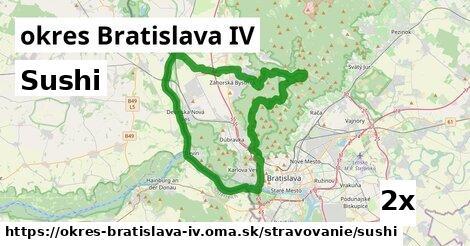 ilustračný obrázok k Sushi, okres Bratislava IV